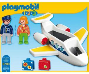 Playmobil 1.2.3 - Avion de ligne