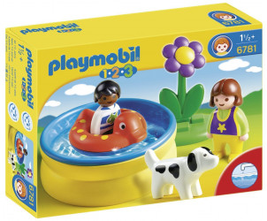 Playmobil 1.2.3 : Pataugeoire