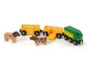Train des animaux de la ferme