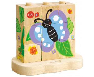 Puzzle De la chenille au papillon
