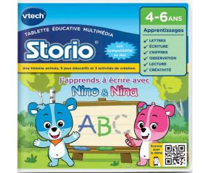 Jeu éducatif Storio 2 : J'apprends à écrire avec Nino et Nina