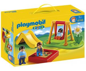 Playmobil 1.2.3 - Enfants et parc de jeux