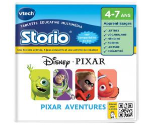 Jeu éducatif Storio : Pixar Aventures