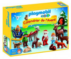 Calendrier de l'Avent 1.2.3 - Le Père Noël et les animaux de la forêt