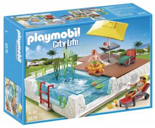Playmobil City Life - Piscine avec terrasse