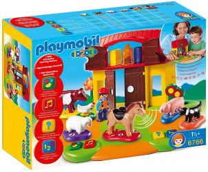 Playmobil 1.2.3 - Ferme interactive