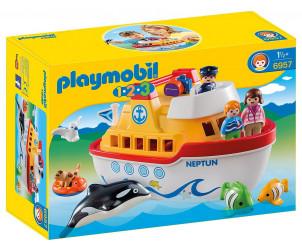 Playmobil 1.2.3 - Navire transportable