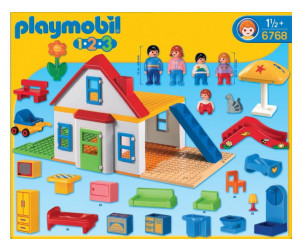 Playmobil 1.2.3 - Coffret Grande Maison