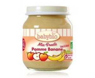 Mes Fruits : Pomme-Banane 2x130gr