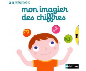 Livre Mon imagier des chiffres - Kididoc