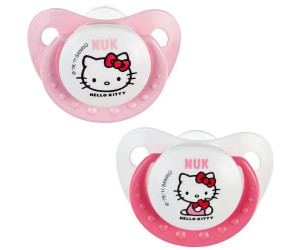Lot de 2 sucettes Hello Kitty