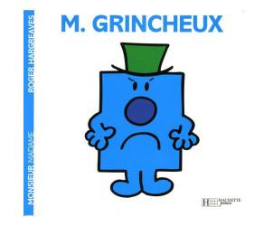 Livre Monsieur Grincheux