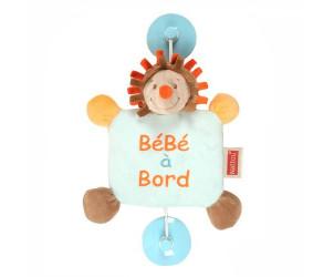 Peluche Bébé à bord, thème Forest