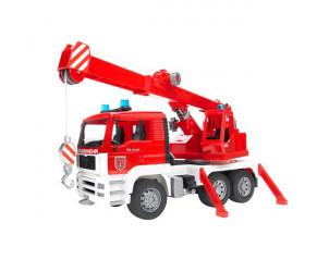 Camion pompiers Man grue mobile