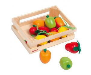 Cagette de fruits en bois