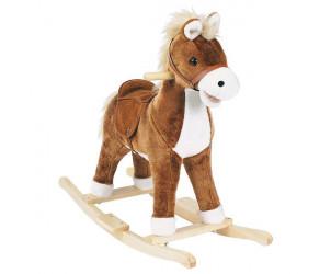 Petit cheval à bascule musical