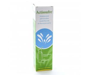 Actisoufre solution nasale et buccale