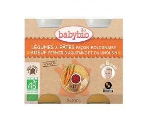 Légumes et pâtes façon Bolognaise - Dès 6 mois