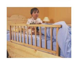 Barrière de lit pliante en bois