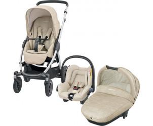 Trio Stella avec siège auto City et nacelle Compacte