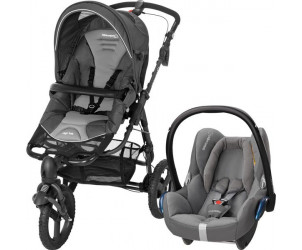 Poussette duo High Trek / Cabriofix