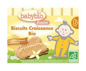 BIO Biscuits croissance 150 g dès 15 mois
