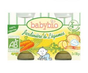 BIO Jardinière de Légumes 130 g dès 4 mois