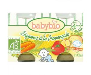 BIO Légumes Provençale 130 g dès 4 mois