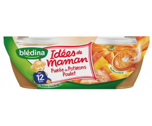 LES IDÉES DE MAMAN - Purée de potiron et poulet
