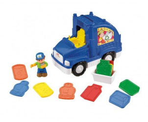 camion recyclage little people fisher price avis. Black Bedroom Furniture Sets. Home Design Ideas