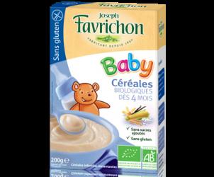 Céréales Baby dès 4 mois