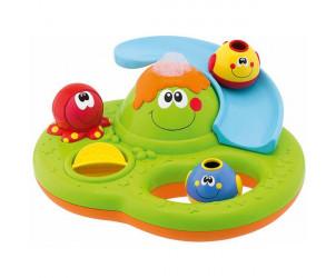 Jouet de bain bébé centre d'activités bubble island