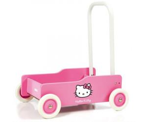 Chariot de marche Hello Kitty