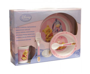 Set 5 pièces micro ondable Winnie Baby