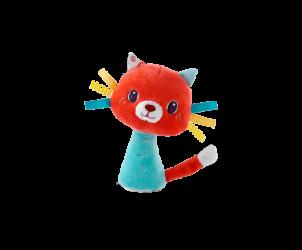 Mini hochet Colette le chat