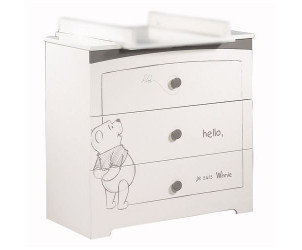 Commode 3 tiroirs adorable pooh