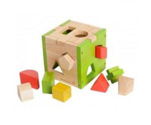 Cube formes géométriques