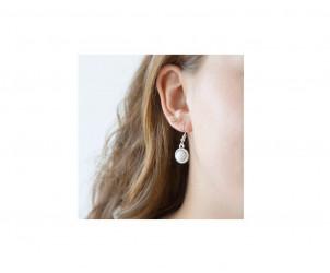 Boucles d'oreilles Dalhya - Bijou au lait maternel