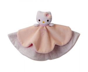 Doudou plat Hello Kitty