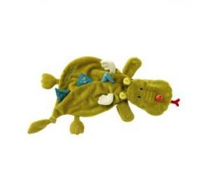 Marionnette doudou Walter le dragon