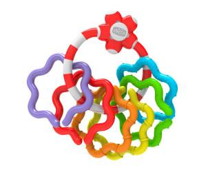 Hochet à anneaux colorés