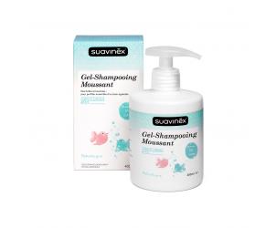 Gel douche-shampooing moussant