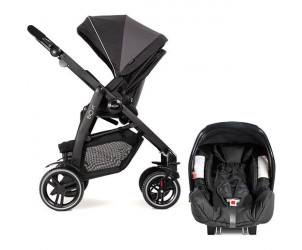 Poussette duo Evo XT + coque Junior baby