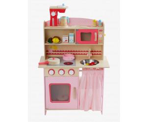 grande cuisinette en bois vertbaudet avis. Black Bedroom Furniture Sets. Home Design Ideas