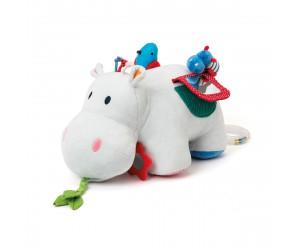Peluche d'activités Axel l'hippo