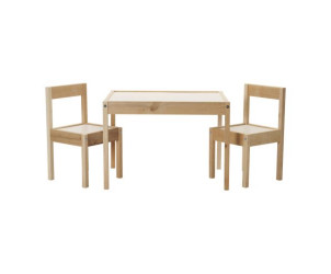Table et deux chaises enfant Latt