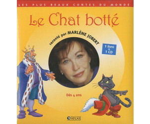 Le Chat botté  Jobert, Marlène, LIVRE + CD AUDIO