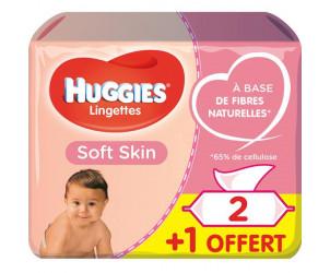 Lingettes Soft Skin