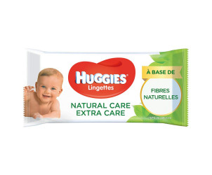 Lingettes Natural Care Extra Care
