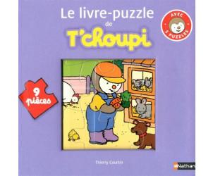 Livre puzzle T'choupi - 9 pièces